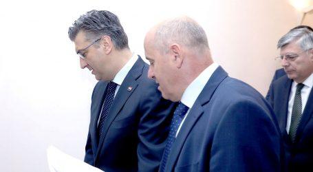 Plenković stranačkom klubu predstavio Malenicu