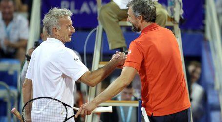 ATP UMAG Prpić pobijedio Ivaniševića u reprizi finala iz 1990.