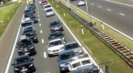 Pojačan promet u smjeru mora i unutrašnjosti, prometna nesreća na zagrebačkoj obilaznici