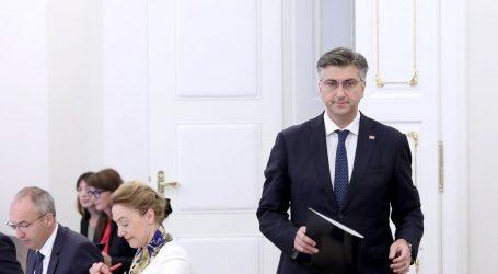 SJEDNICA VLADE: Plenković kaže da je zadovoljan ministrima koje je smijenio