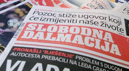 Pregledana zgrada Slobodne Dalmacije, nije pronađena bomba