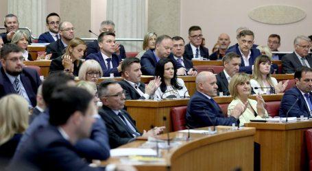 IZVANREDNA SJEDNICA SABORA: Svi ministri dobili povjerenje