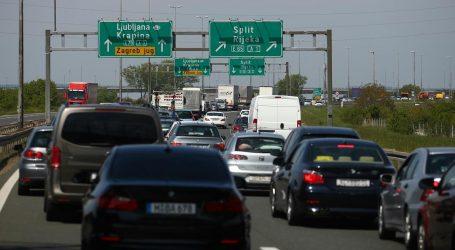 Promet teče bez ograničenja, kolona na zagrebačkoj obilaznici