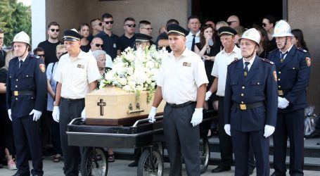 Pokopan hrabri vatrogasac Ivan Galeković