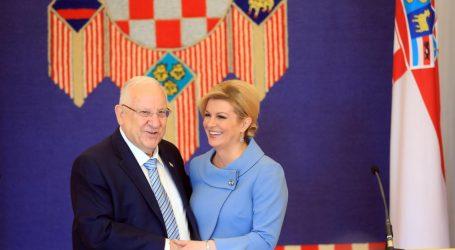 Predsjednica za višu razinu odnosa Hrvatske i Izraela
