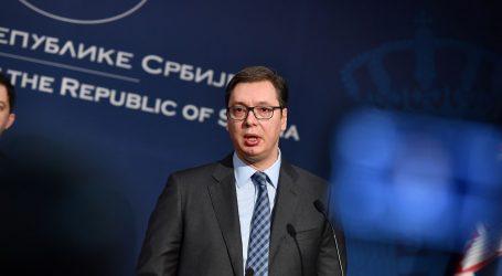 """VUČIĆ """"Haradinajeva ostavka je politički trik"""""""