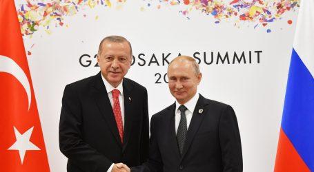 Erdogan i Putin telefonski razgovarali o sukobu u Libiji