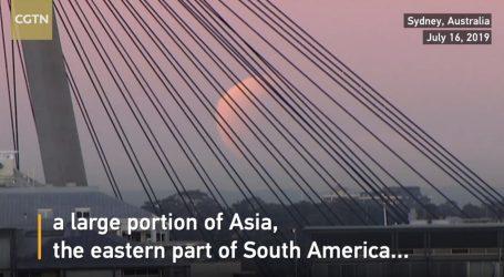 VIDEO: Pomrčina Mjeseca vidljiva iz mnogih krajeva svijeta
