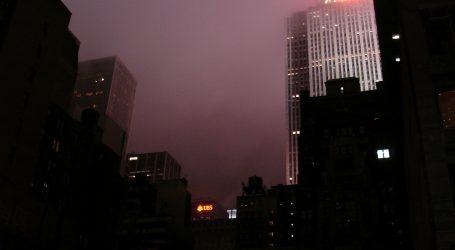 Masovni nestanak struje u New Yorku, Manhattan i Times Square u mraku