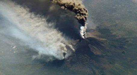 SICILIJA Prizemljeni letovi zbog erupcije Etne