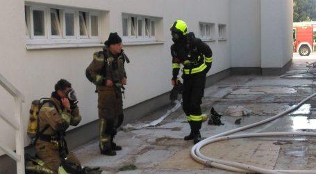 VIDEO Požar u zgradi Slobodne Dalmacije