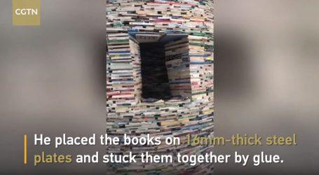VIDEO: Kula od knjiga izložena na kineskom sveučlištu