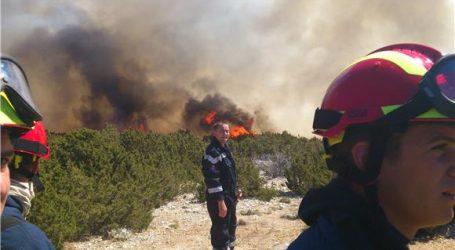 Barban: Vatrogasci i kanader lokalizirali požar
