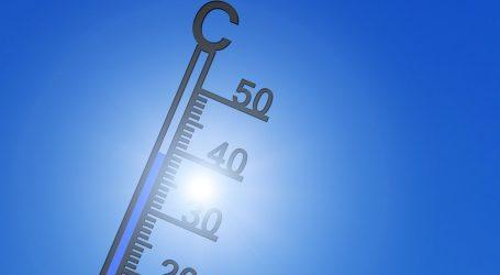 Sunčano i vruće, izdana narančasta upozorenja zbog visokih temperatura