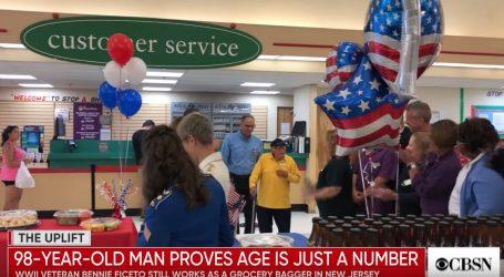 VIDEO: Ratni veteran još uvijek radi u supermarketu