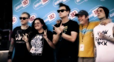 VIDEO: Grupa Blink-182 nastupa za svoju publiku