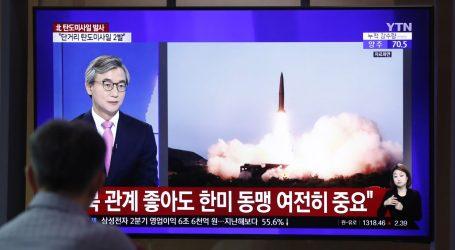 Sjeverna Koreja izvela novo testiranje raketa kratkog dometa