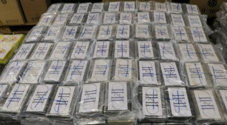 U Francuskoj zaplijenjeno više od tone kokaina