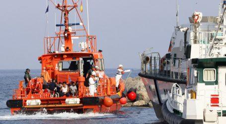 Španjolska obalna straža spasila 208 migranata