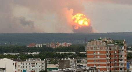 Nakon raketne nesreće razine radijacije u Severodvinsku narasle između 4 i 16 puta