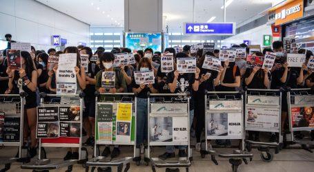 Sukobi u zračnoj luci u Hong Kongu tijekom prosvjeda