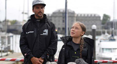 Klimatska aktivistica Greta Thunberg jedrilicom stigla u New York