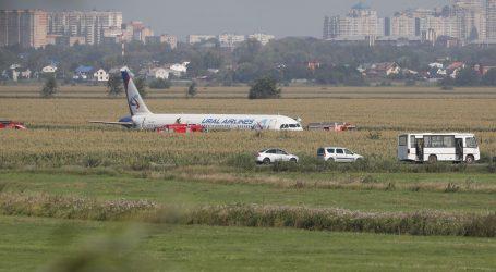 ČUDO U RUSIJI: Avion sletio u polje kukuruza nakon što je udario u jato ptica