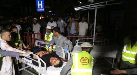 U snažnoj eksploziji na svadbi u Kabulu najmanje 20 ranjenih