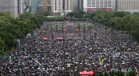 Prosvjed u Hong Kongu: Na ulicama 1,7 milijuna ljudi