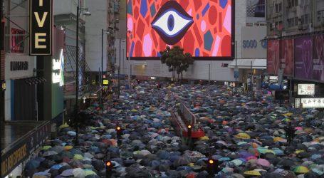 Deseci tisuća ljudi ponovno prosvjeduju u Hong Kongu