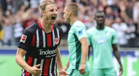 BUNDESLIGA Gol u prvoj minuti donio Eintrachtu pobjedu, Rebiću 90 minuta