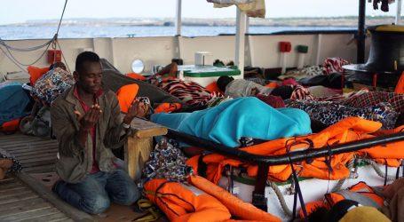 EKSPLOZIJA RADOSTI: Migranti s Open Armsa iskrcali se na Lampedusu