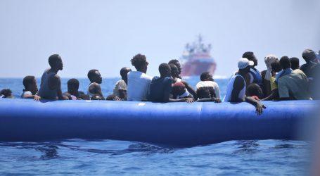 UNHCR: Najmanje 40 mrtvih ili nestalih u potonuću čamca s ilegalnim migrantima kod Libije