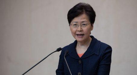 Čelnica Hong Konga vidi izlaz iz kaosa u dijalogu