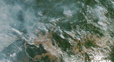 ZABRINJAVAJUĆE: Broj požara u Amazoniji u odnosu na lani porastao za 83 posto