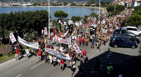 Tisuće prosvjednika kod Biarritza zbog summita G7