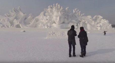 VIDEO: Carstvo leda na sjeveru NR Kine