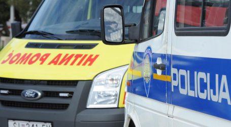 Četiri osobe ozlijeđene u nesreći u Podstrani, sudarila se tri automobila i kombi