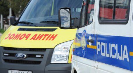 Deset ozlijeđenih u sudaru četiri vozila kod Novigrada