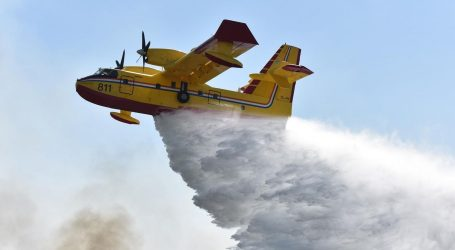 Na požarište kod Knina upućene dodatne zračne snage