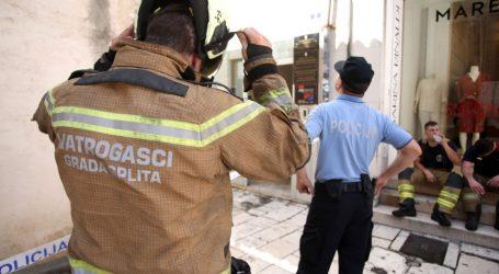 Požar u Splitu: Starijem muškarcu pozlilo, preminuo je na mjestu