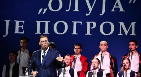 VUČIĆ 'Oni koji slave Oluju ne trebaju misliti da Srbija danas nije sposobna snažnijeodgovoriti'