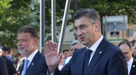 Plenković s tri ministra danas obilazi 3. maj