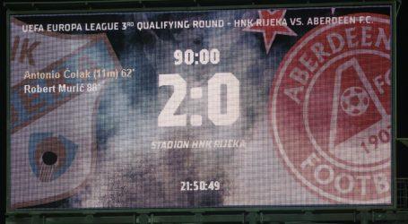 Europska liga: Aberdeen ipak s najboljim strijelcem protiv Rijeke, početne postave
