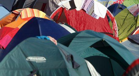 Udvostručen broj kampova na kontinentu