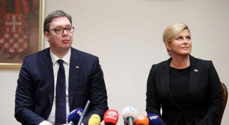 """VUČIĆ POTVRDIO: """"Da, tražio sam Grabar-Kitarović da ne koristi stalno izraz 'velikosrpska agresija'"""""""