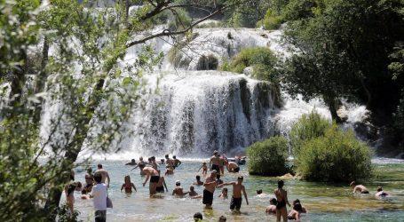Voda u Nacionalnom parku Krka je izvrsne kakvoće