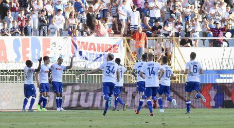 Hajduk s tri pogotka do prve pobjede nad Goricom