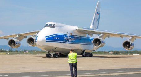 Jedan od najvećih aviona na svijetu sletio u Zagreb, iz ruske nuklearke dovezao motor na remont