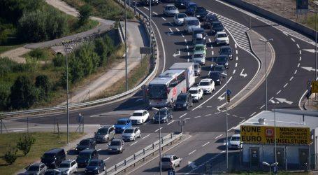 Prvog kolovoškog vikenda nešto bolji promet i zarada na hrvatskim autocestama